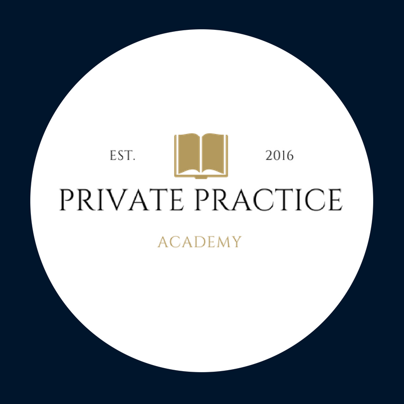 private pracrtice academy logo circle